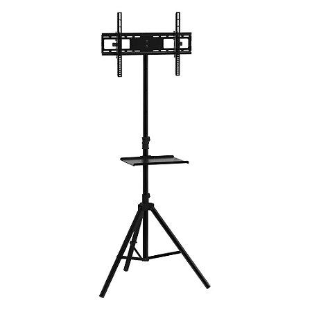 """Rack Pedestal Tripe Suporte para TV até 60"""" Sumay modelo SPMT 01"""