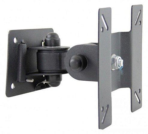 Suporte Articulado Monitor TV Lcd Led Wall Mount VESA 75 e 100 Kinetron F-03