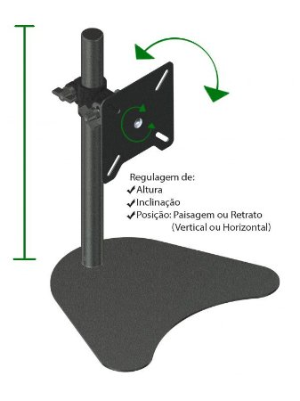 Base / Suporte para Monitor - ISM-2023 Avatron