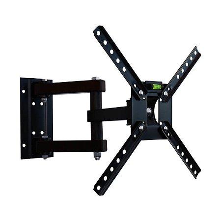 """Suporte Articulado para TV LED, LCD, Plasma, 3D e Smart de 10 a 55"""" SBRP140 - Brasforma"""