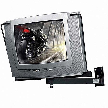 Suporte Para Tv Crt Parede 14 A 21 Multivisão St40-pr