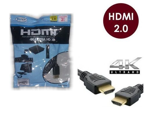CABO HDMI 2 METROS 2.0 4K ULTRA HD 3D ALLTECH