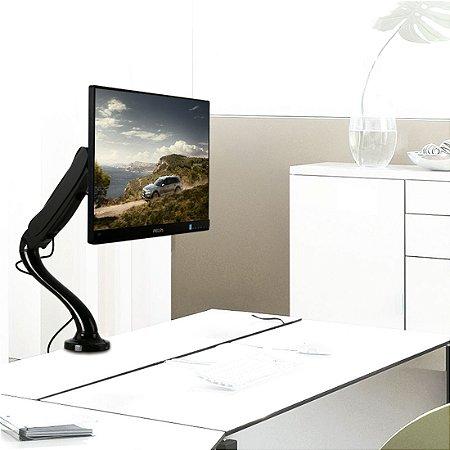 """Suporte Articulado para Monitor LED e LCD de 13″ a 27"""" – Brasforma SBRM 713"""
