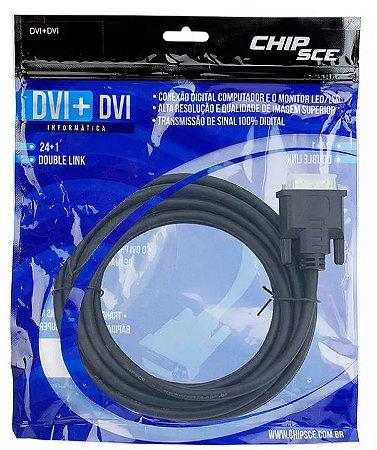 CABO DVI 24+1 X DVI 24+1 3 METROS CHIP SCE 0189558