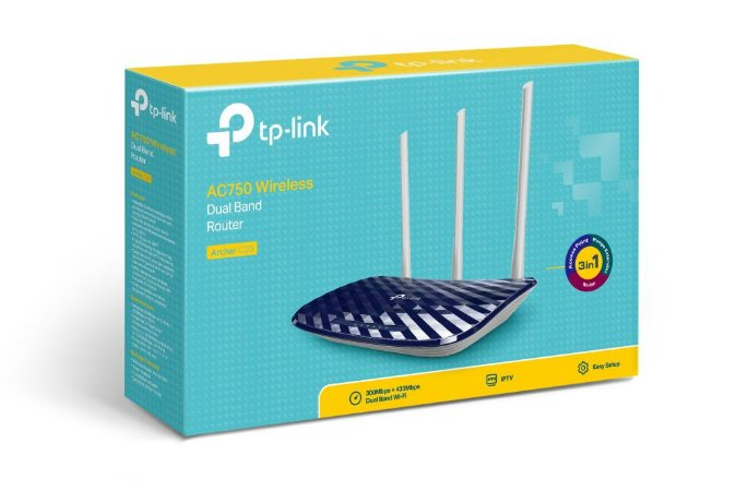 Roteador Wireless TP-LINK AC750 ARCHER C20 Dual BAND 3 Antenas tp link