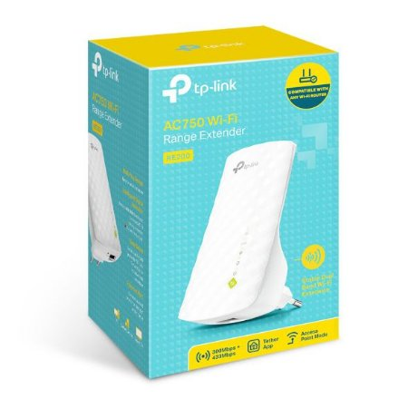 Repetidor TP-Link WiFi Wireless  AC750  RE 200 2.4GHz até 300Mpbs