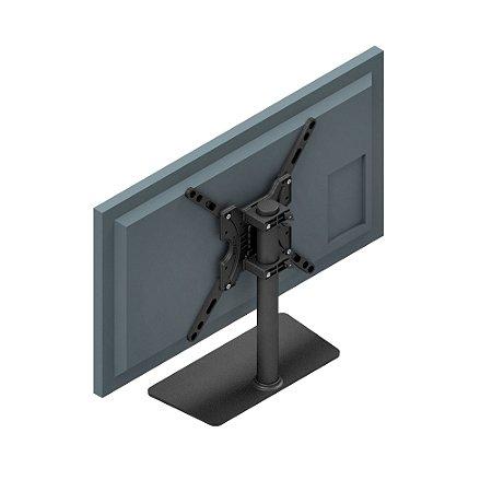 "DUPLICADO - Suporte tipo BASE / Pedestal de mesa para TV  até 55"" LCD LED 3D Smart - Avatron MTV-2755 MTV 2755"