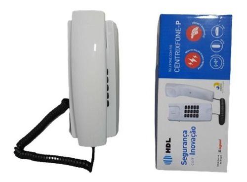Telefone HDL Gôndola Centrixfone RJ11 de Parede  serve também para coletivo
