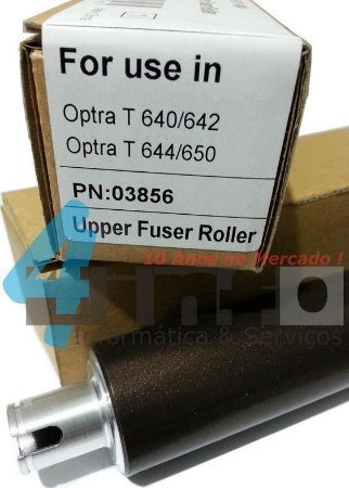 Rolo Fusor OEM Lexmark T640 T642 T644 X642 X644 X646 T650 T652 T654 X652 X654 X656 X658 99A2036
