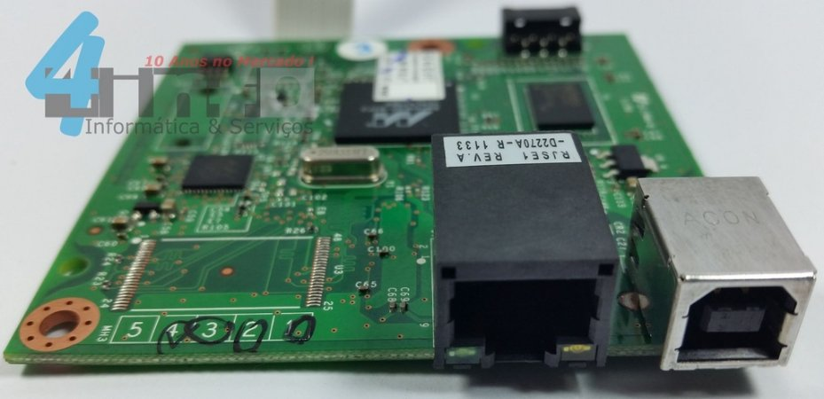 Placa Logica Formatter HP Laserjet P1606 P1606dn CE671-60001 Nova Nfe