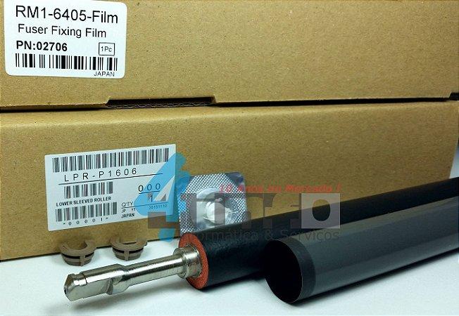 Kit Fusor OEM Rolo Pressor Buchas Pelicula HP LJ P1606 M1536 M1566 RM1-7546