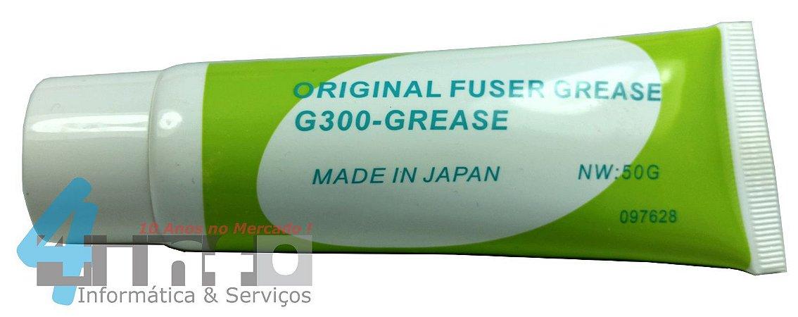 Graxas Lubrificante Película Teflon Fusor HP - Graxa Branca G300