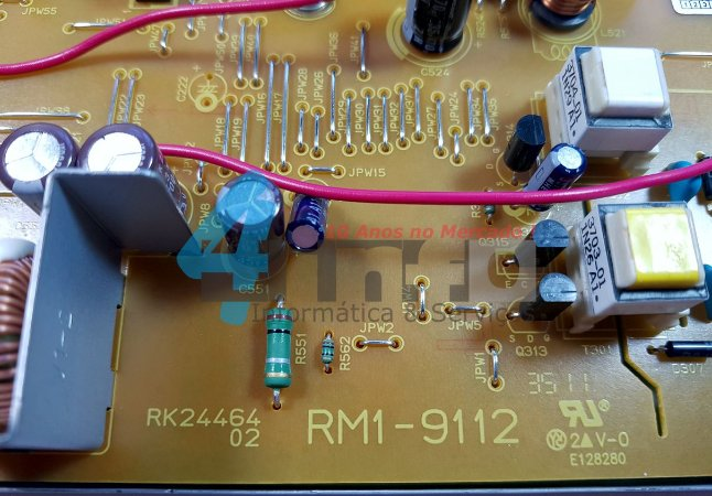 Placa Fonte HP Laserjet Pro400 M401 M425 RM1-9112 Duplex