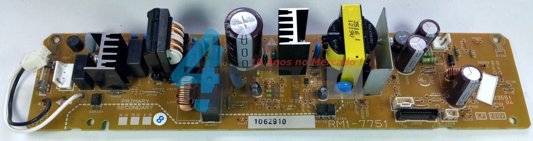 Placa Fonte HP LJ Color CP1025 110v LVPS RM1-7751
