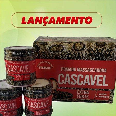 Pomada Massageadora Cascavél Rhenuks 200g
