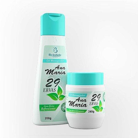 Gel Ana Maria 29 ervas Promoção Kit com 10 unidades