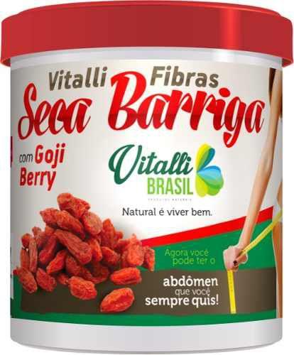 Farinha Seca Barriga Vitalli Fibras 300g