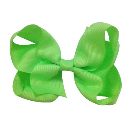 Laço tipo borboleta Grande - Cód. 17.174 - Verde Neon