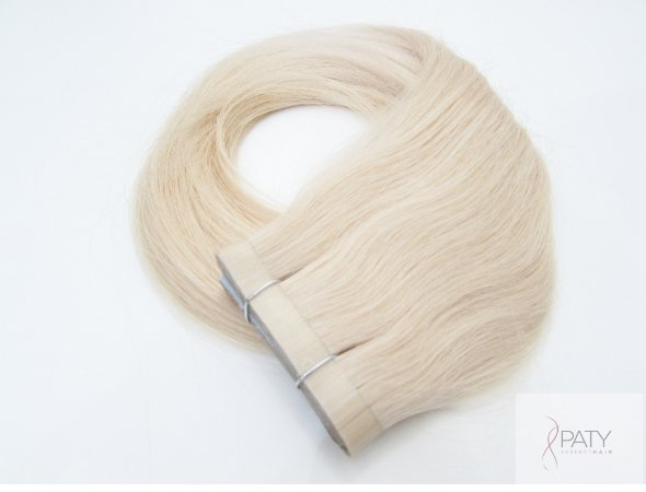 Mega Hair Fita Adesiva Loiro Clarissimo