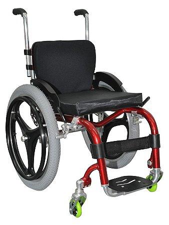 Cadeira de Rodas Dinâmica New Ajustável Infantil
