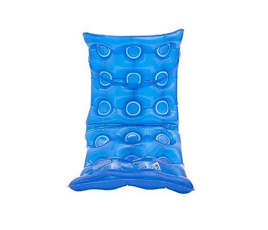 Almofada Ortopédica de Água com Encosto Inflável