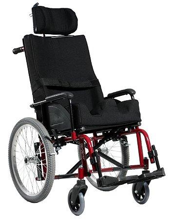Cadeira de Rodas Confort Plus Aço