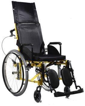 Cadeira de Rodas Standard Reclinável Plus