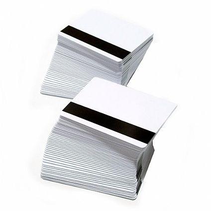 Cartão PVC Branco 0,76 com tarja de alta coercividade (CENTO)