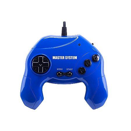 Master System® Plug & Play com 40 jogos na Memória - Azul