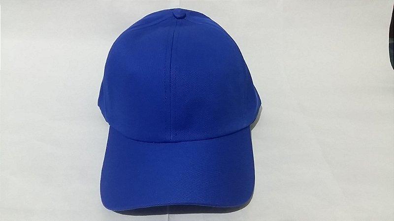 Boné Brim de Velcro Azul Claro