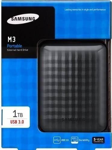 HD EXTERNO PORTÁTIL SAMSUNG 1TB USB 2.0 e 3.0