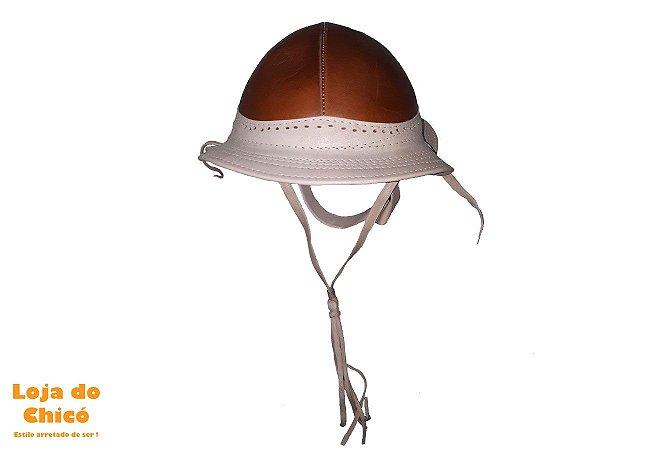 Chapéu de Couro Nordestino - Estilo Vaqueiro - Loja do Chicó ... 4f45082628d