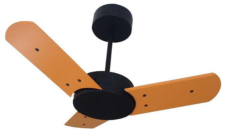 Ventilador de Teto Personalizado Minimi - 3 pás em Laca - Sem Iluminação