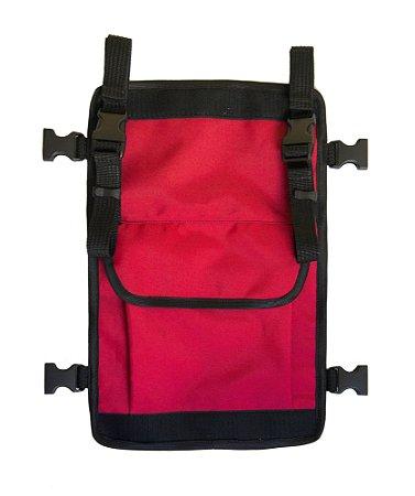 2b Pocket Vermelha - Cover para mochilas Kyosei