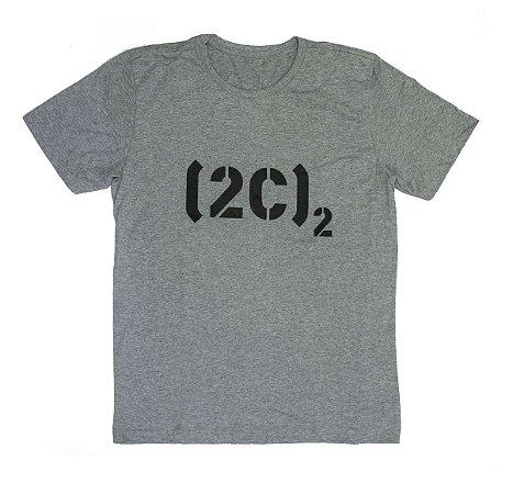 Camiseta Logo Cinza