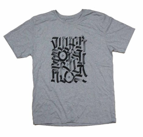 Camiseta Desenvolvido Pela Rua Cinza
