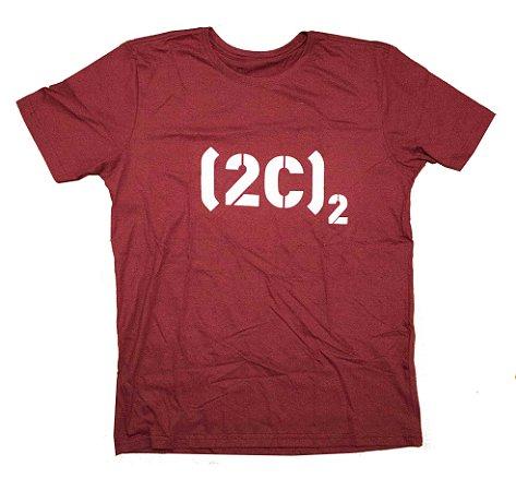 Camiseta Logo Vinho