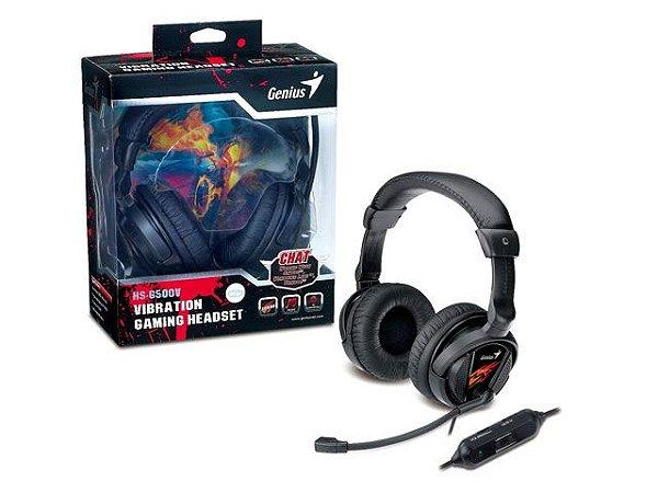 HEADSET GAMER GENIUS 31710020101 HS-G500V GAMER