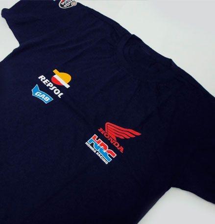 FR071 - Camiseta Estampa - Equipe HONDA REPSOL - MOTO GP