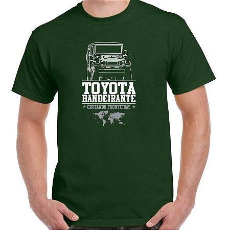 FR232 - Camiseta - TOYOTA BANDEIRANTE FRONTEIRAS 4x4