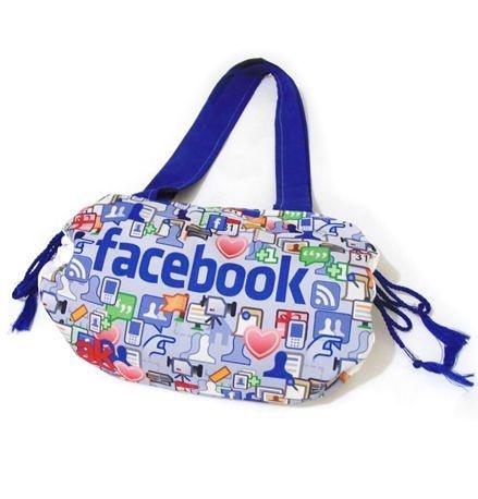 BL008 - Bolsa Canga- Praia / Campo - Azul Royal- Facebook