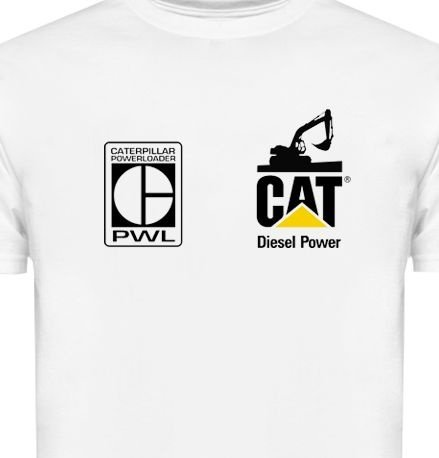 MK004 - Camiseta Dry Fit - CAT Caterpillar - Diesel Power