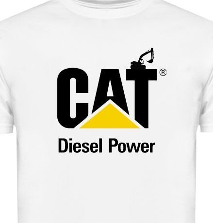 FR042-A - Camiseta Estampa - CAT Diesel Power Caterpillar