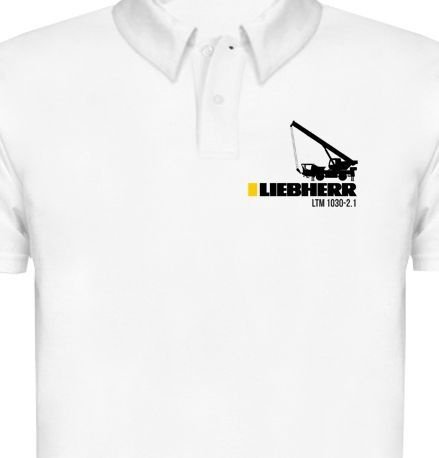 MK008 - Camisa Polo Dry Fit - Estampa LIEBHERR - LTM 1030
