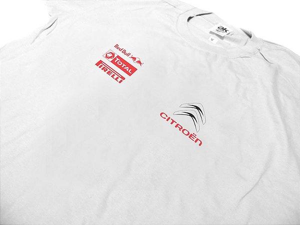 FR086 - Camiseta CITROEN RACING - branca
