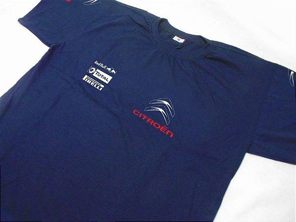 FR091 - Camiseta CITROEN RACING - azul marinho