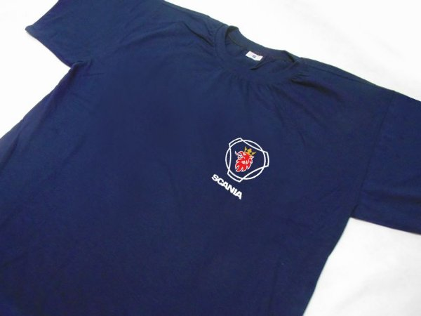 FR108 - Camiseta - SCANIA 125 Years azul