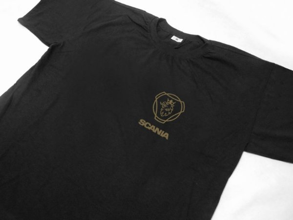 FR110 - Camiseta SCANIA 125 Years - preta