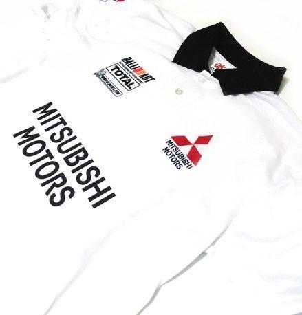 ES033 - Camisa Pólo Dry Fit - Mitsubishi Motors Total - WRC