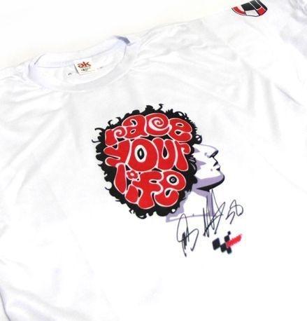 ES047 - Camiseta Dry Fit - Marco Simoncelli Race your life - MOTO GP